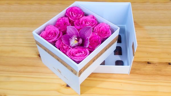 Chocolate Rose Box